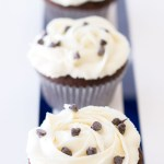 Oreo Truffle Stuffed Chocolate Cupcakes