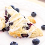 lemon blueberry scone recipe