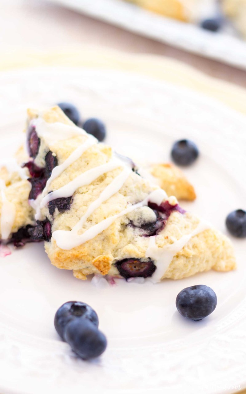 lemon blueberry scone recipe