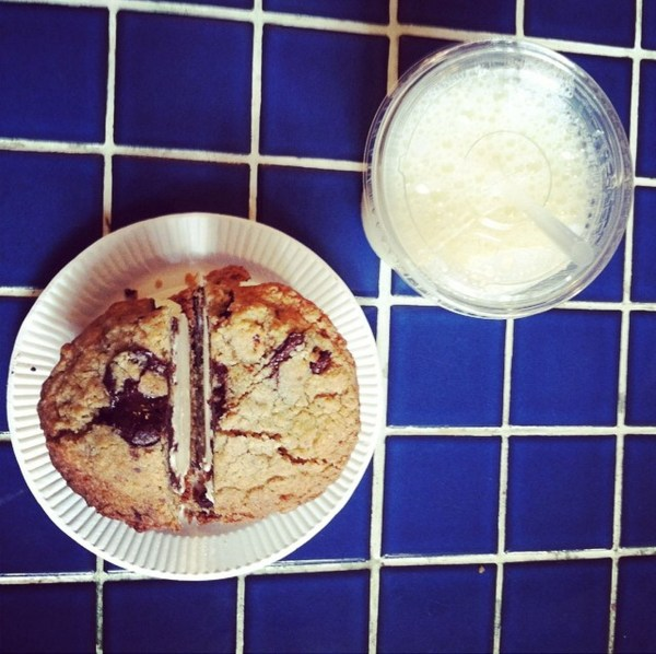 Milk and Cookies | A Latte Food