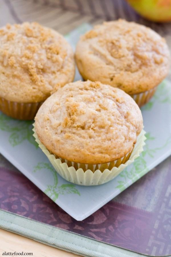 Apple Cinnamon Muffins | A Latte Food