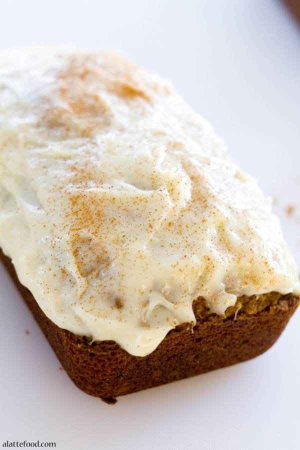 Classic Pumpkin Streusel Bread | A Latte Food