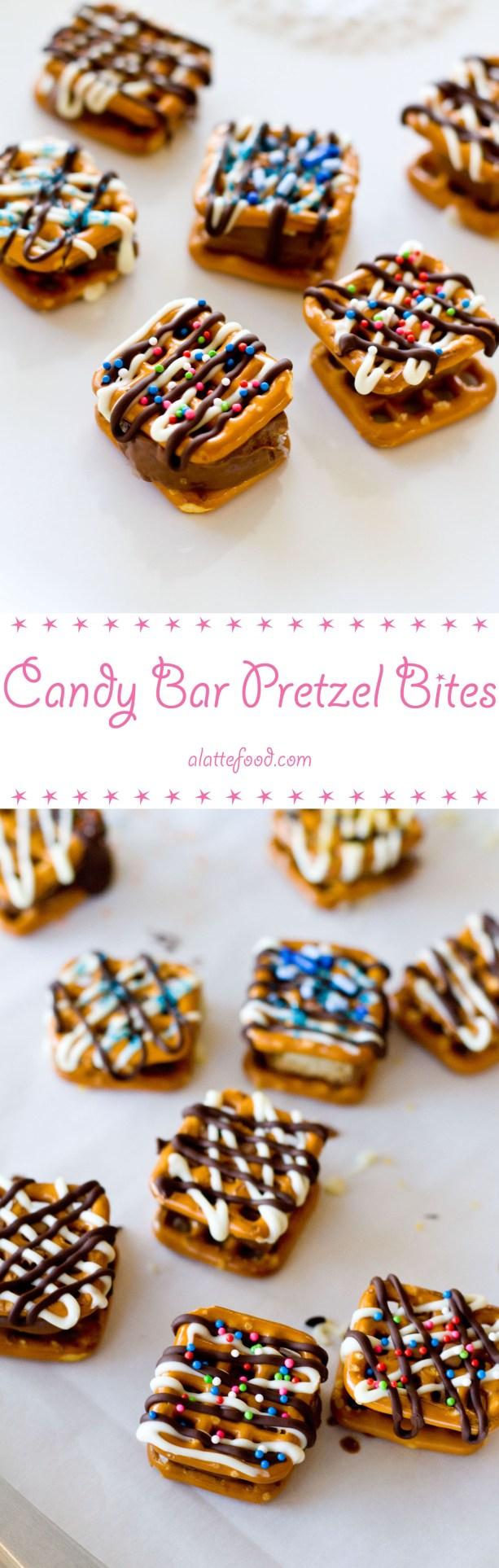 Candy Pretzel Bites | A Latte Food