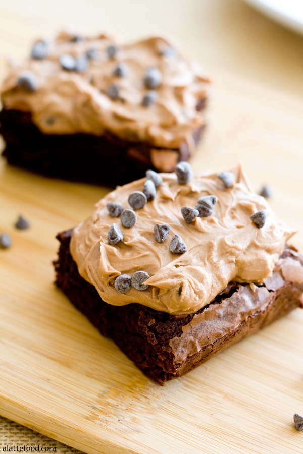 Mocha Chip Brownies | A Latte Food