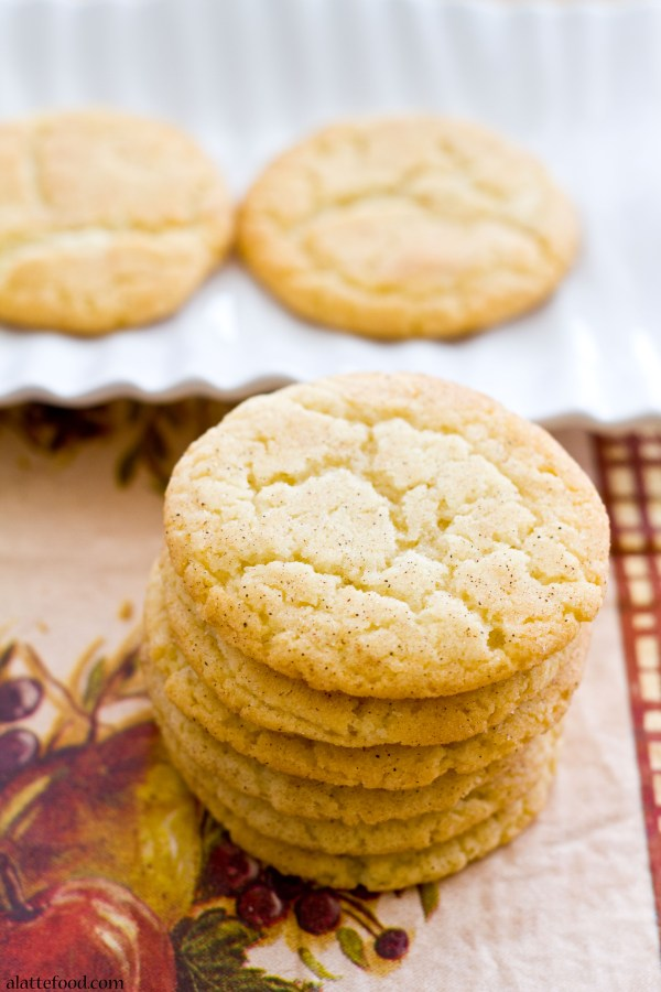 Classic Snickerdoodles   A Latte Food