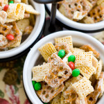 White Chocolate Puppy Chow | A Latte Food