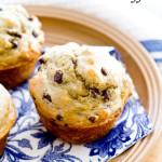 Skinny Peanut Butter Honey Banana Muffins | A Latte Food