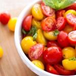 Fresh Tomato Basil Salad | A Latte Food