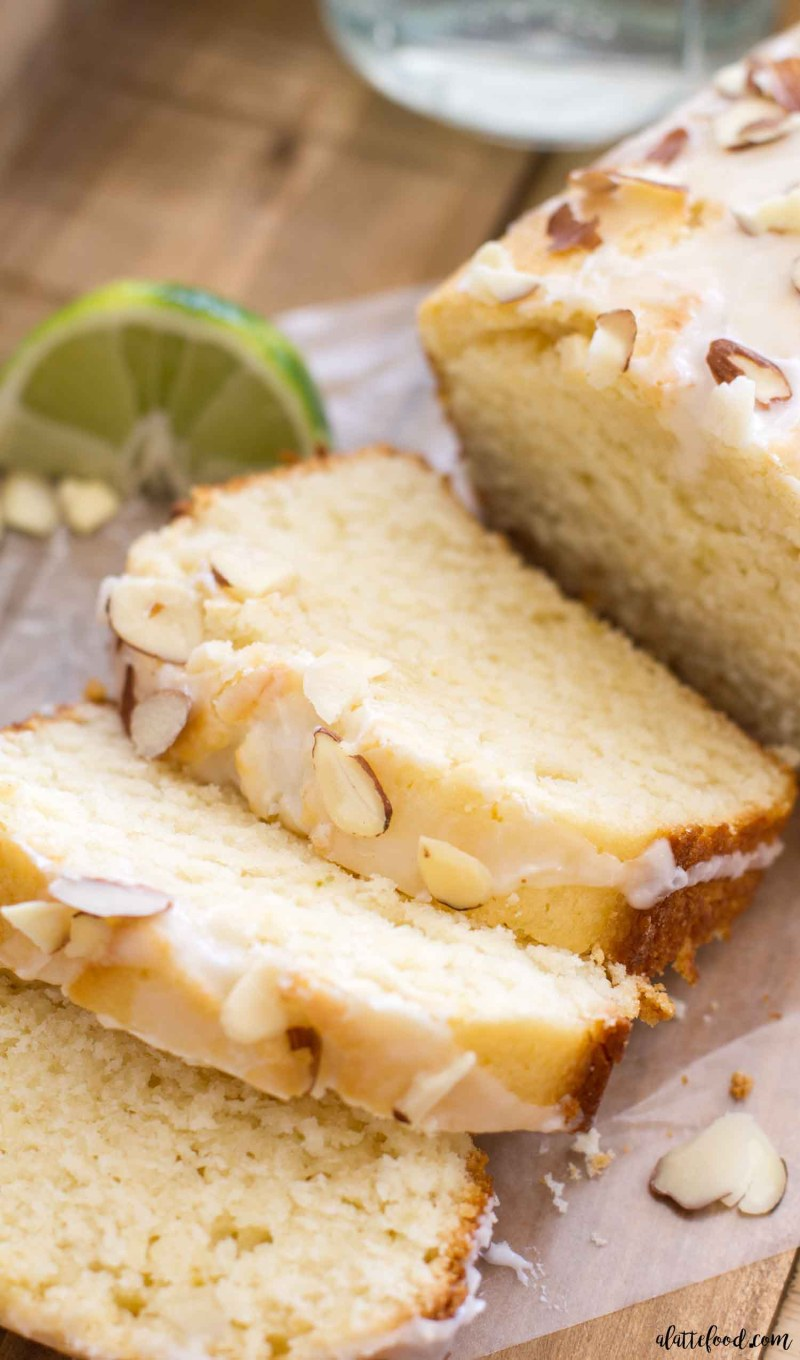 This Citrus Almond Loaf Cake is a play on Starbucks lemon loaf cake, but has a lemon-lime and almond twist. This homemade lime and lemon cake is made in a loaf pan and topped with a citrus almond glaze that is to die for! A perfect lemon dessert for spring or summer! the best lemon cake recipe