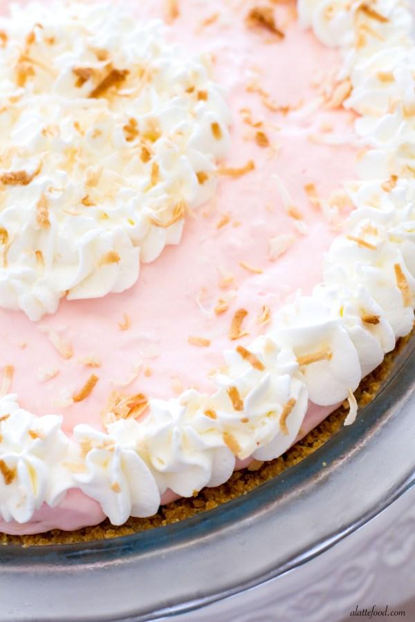{No-Bake} Tropical Cream Pie   A Latte Food