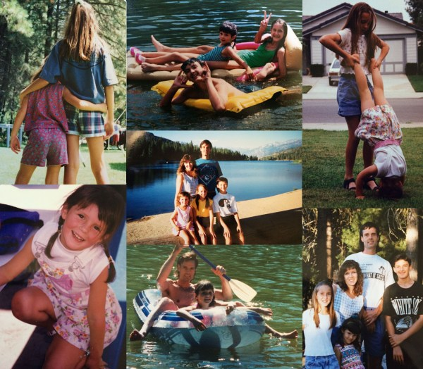 Fam Summer Collage