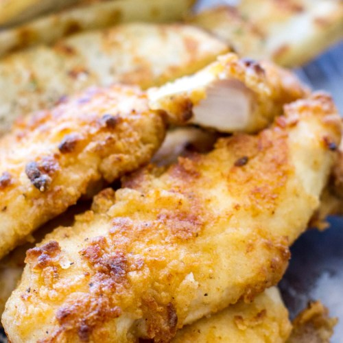 Oven Baked Ranch Chicken Tenders A Latte Food