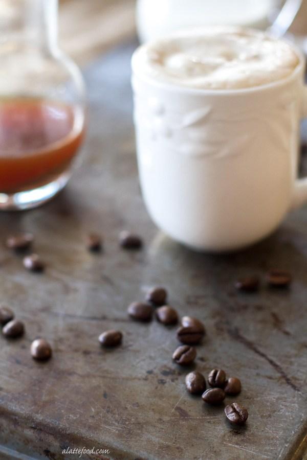 Hot espresso and cream are poured over espresso fudge ice cream to make a decadent dessert that's perfect for any occasion!