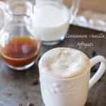 Cinnamon Vanilla Affogato