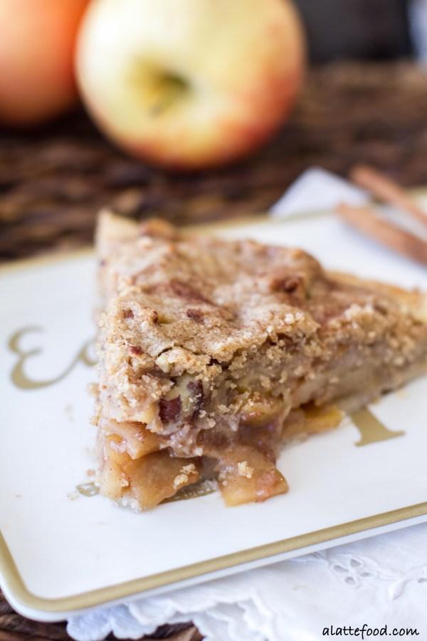 Rustic Dutch Apple Pie