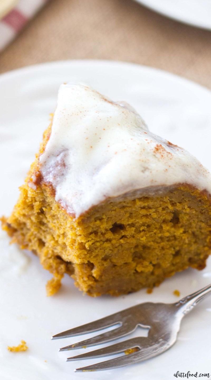 This classic fall dessert, Cream Cheese Glazed Pumpkin Bundt Cake, is full of pumpkin flavor, cinnamonspice, and rich cream cheese! This rich pumpkin cake is the perfect fall dessert, and the pumpkin cream cheese frosting is to die for! It is absolutely Heavenly.