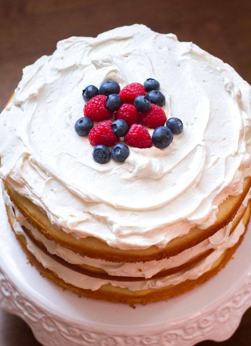 Lemon Berry Dump Cake