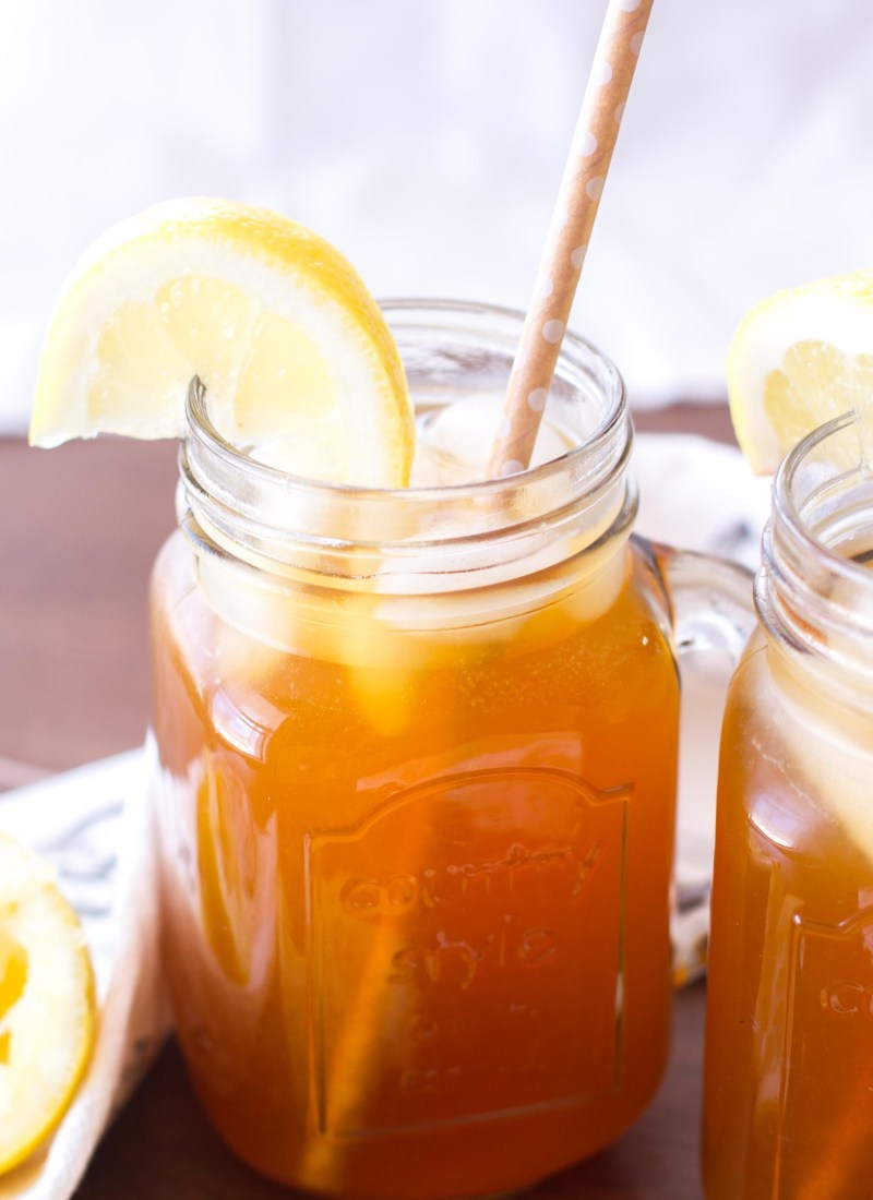 Apricot Lemon Iced Tea