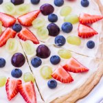 Lemon Sugar Cookie Fruit Pizza