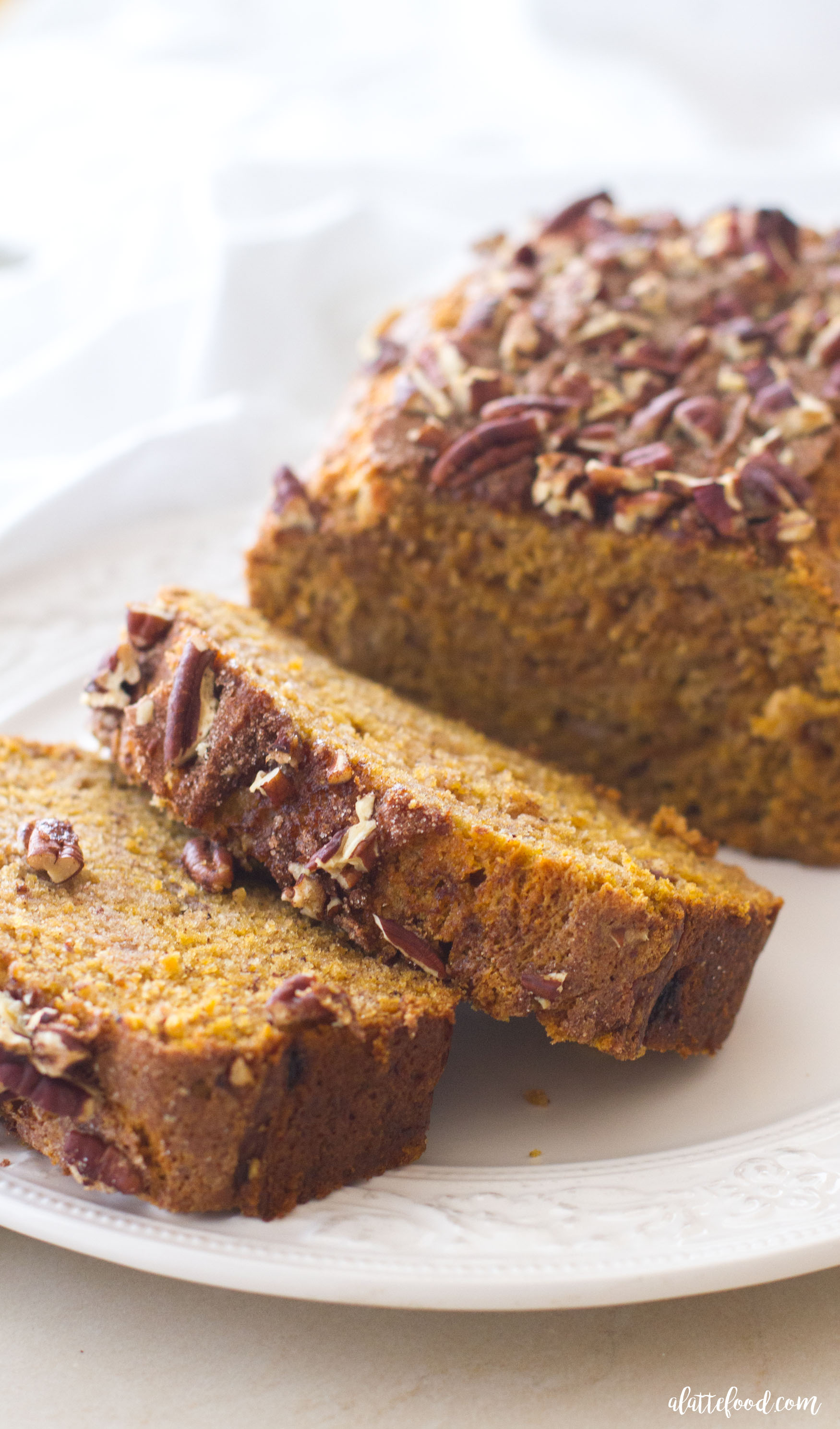 Pumpkin Pecan Banana Bread - A Latte Food