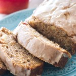 Sweet banana bread meets apple pie and makes the best fall dessert! Topped with a vanilla glaze, this apple pie banana bread is pretty delish!