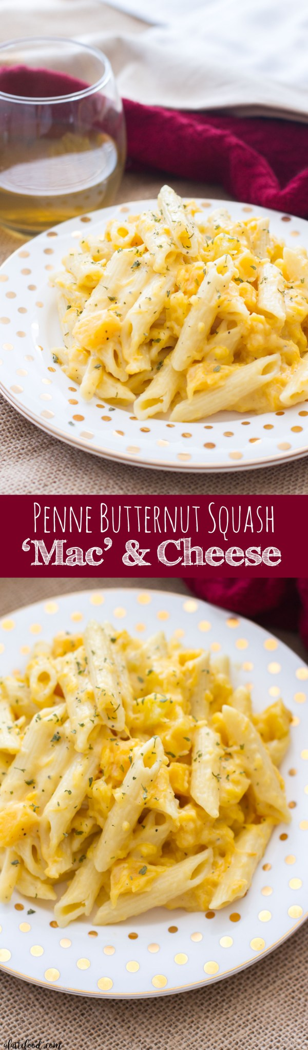 This easy stovetop mac and cheese recipe uses Barilla Penne Pasta, butternut squash, and sharp cheddar cheese to give the classic comfort food a fall dinner twist!