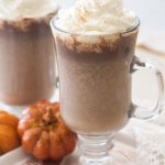 Homemade Pumpkin Hot Chocolate Recipe Uses Real Pumpkin Puree and Pumpkin Pie Spices to Add a Fall Spin to a Classic Drink!