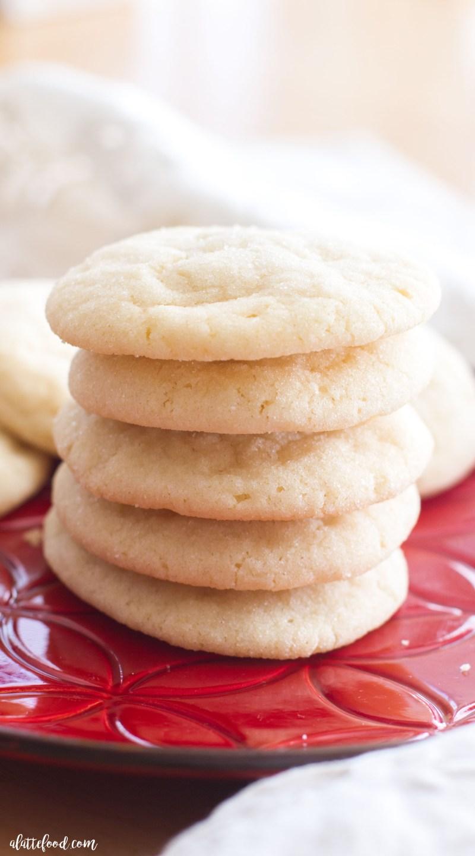 Chewy Sugar Cookies A Latte Food