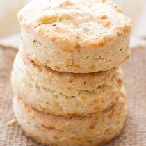 These easy homemade pepper jack cheese and herb biscuits are a perfect side dish to any meal! These homemade biscuits are made with heavy whipping cream, which gives them a light and flaky texture. The spice and flavor of the pepper jack cheese pairs perfectly with the herbs, making these my newest obsession!