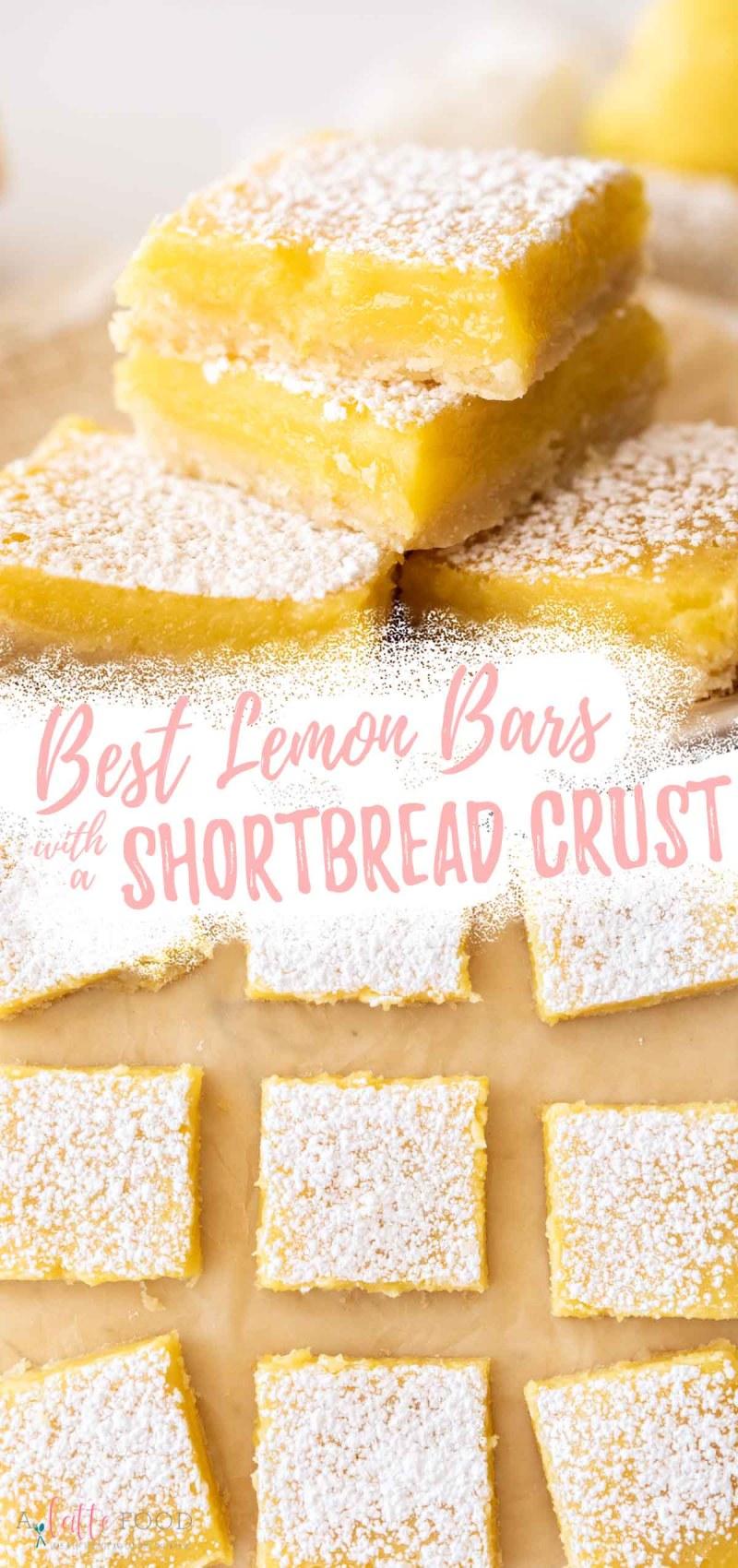 best lemon bar recipe collage