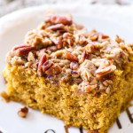Pecan Pumpkin Coffee Cake