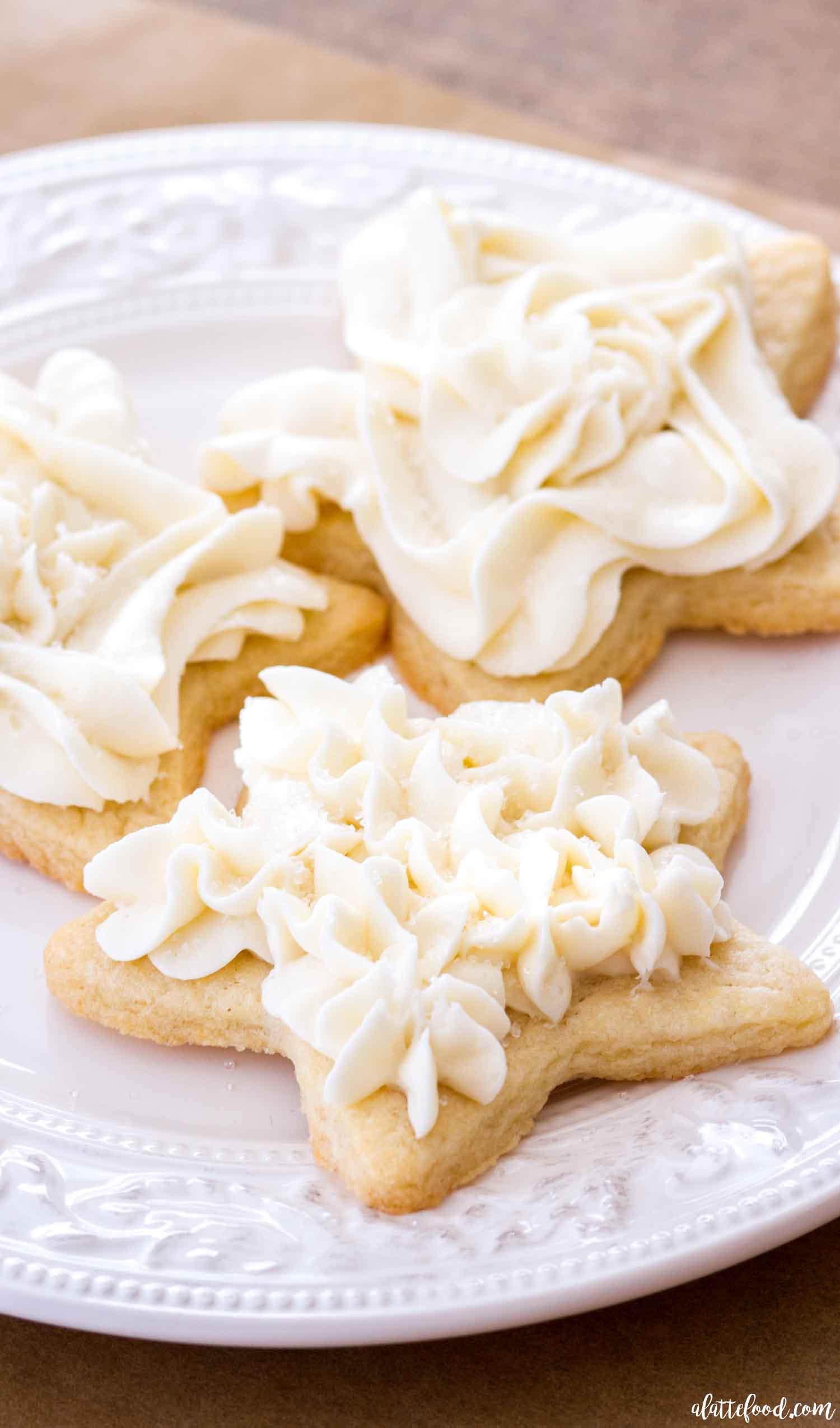 Easy Sugar Cookie Frosting Vanilla Buttercream