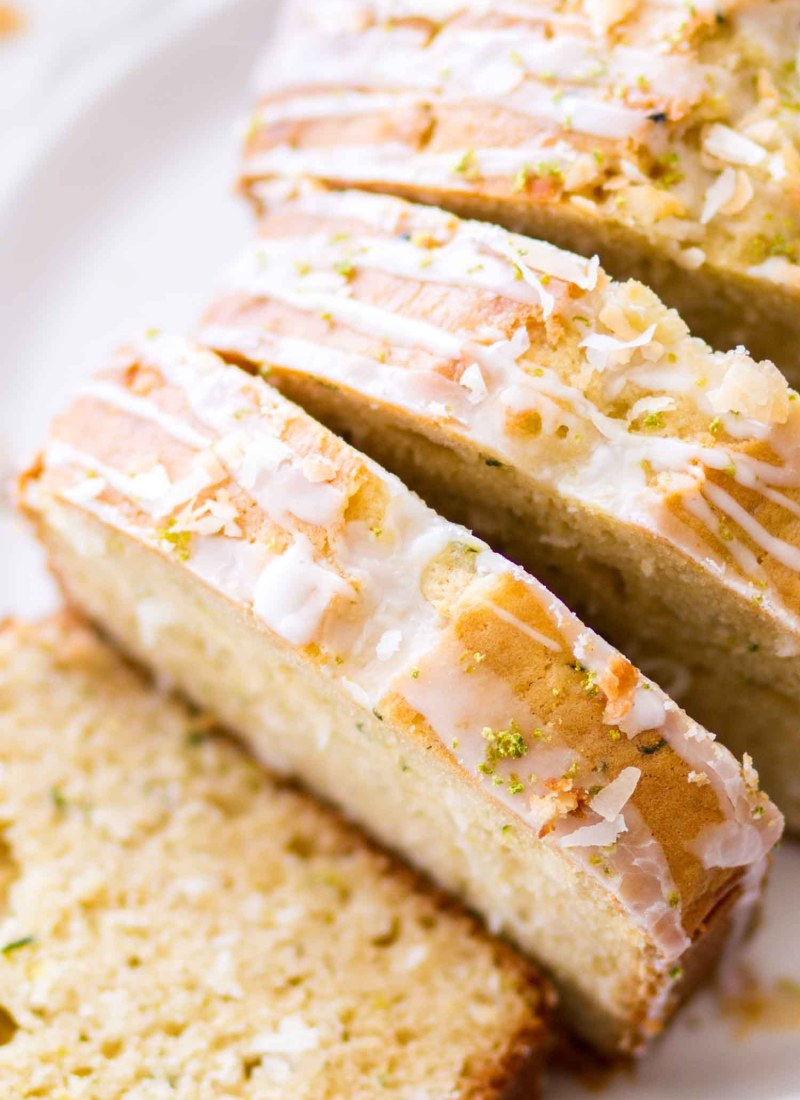 Lime Coconut Zucchini Bread Recipe