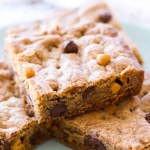 Chocolate Chip Butterscotch Cookie Bars