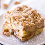 Pumpkin Donut French Toast Casserole