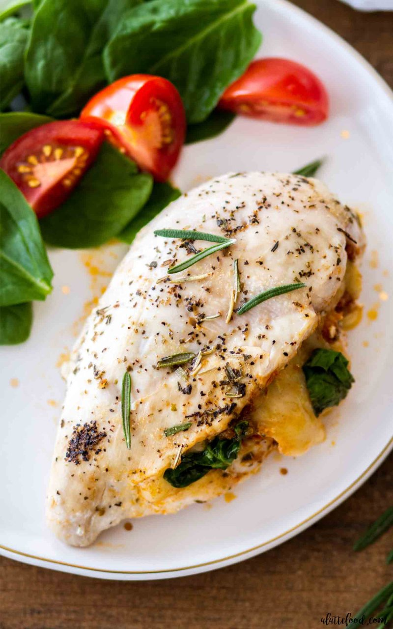Sun Dried Tomato Stuffed Chicken Breasts are full of Tuscan flavors.