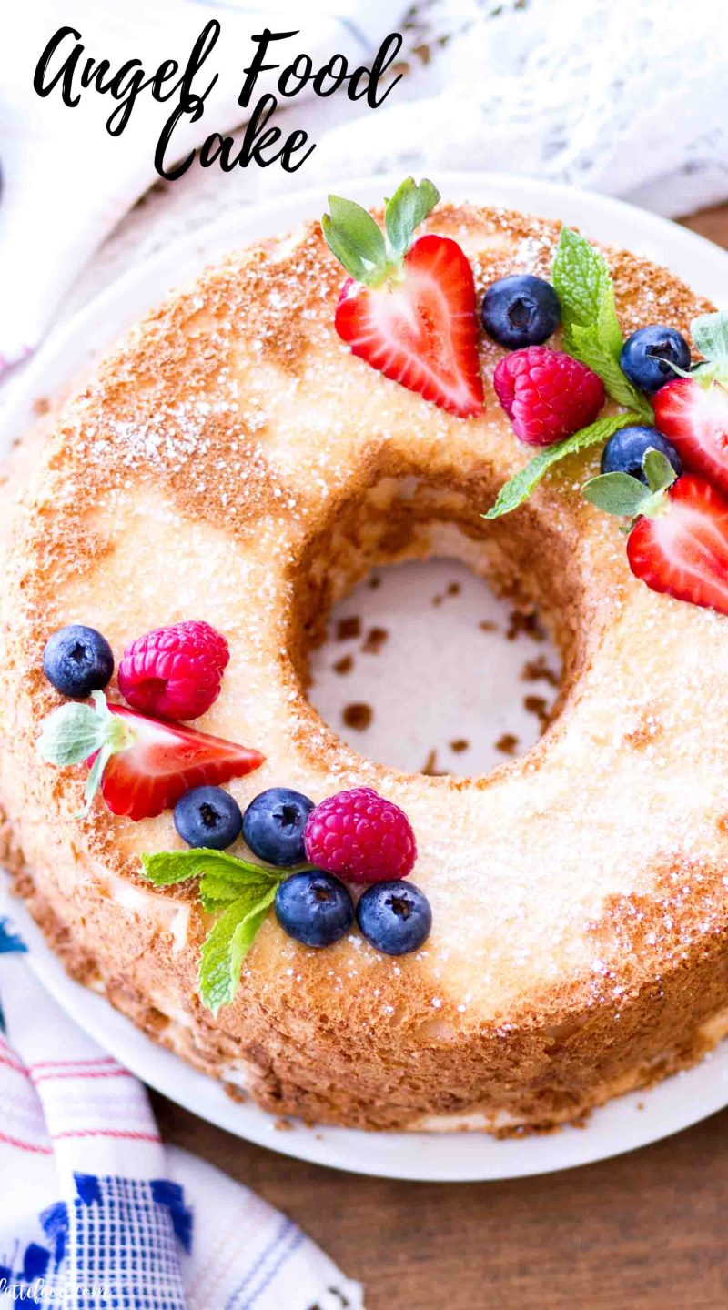 How to Make Perfect Angel Food Cake every single time