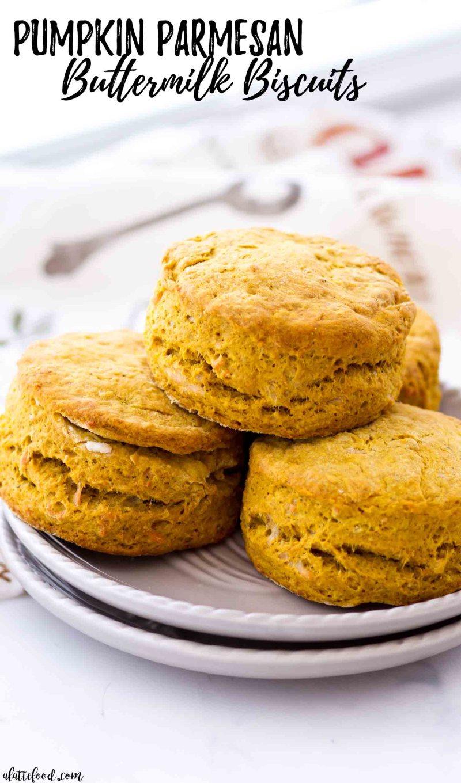 Easy homemade pumpkin buttermilk biscuits