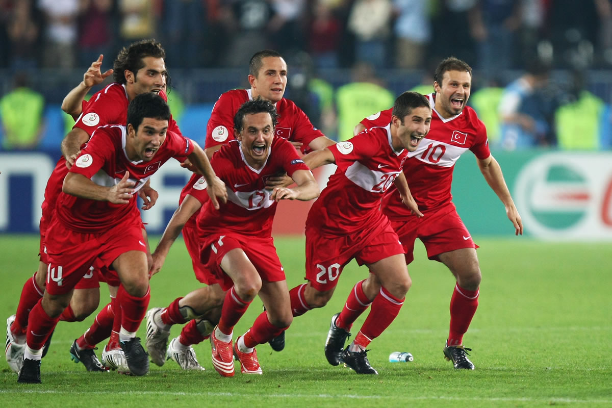 They get their kicks from Euro 2008