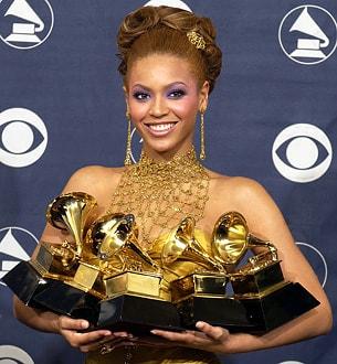 Grammy'de Beyonce Rüzgarı Esti