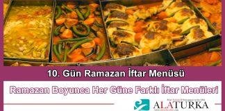 10 Gun Ramazan Iftar Menusu