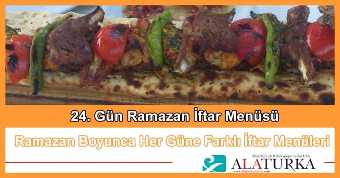 24 Gun Ramazan Iftar Menusu