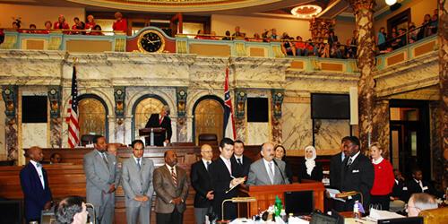 Türk milletvekilleri Missisippi'de ayakta alkışlandı