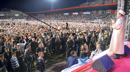 Diyarbakır'da Peygamberimiz'e sevgi seli