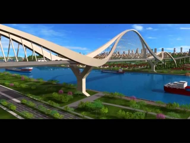 İşte Çılgın Proje Kanal İstanbul'dan simülasyon görüntüleri