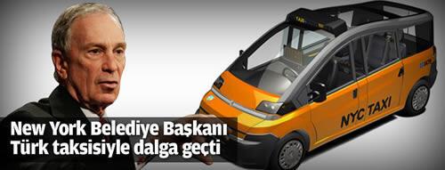 New York Belediye Başkanı Türk taksisiyle dalga geçti