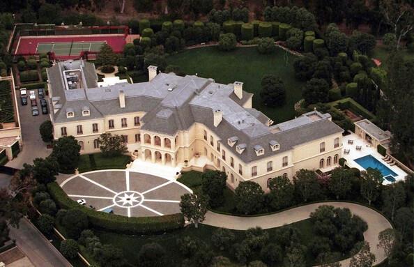 Hollywood yıldızlarının evleri