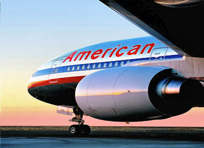 American Airlines battı