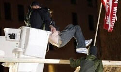 Protestoculara vinçli müdahale