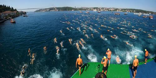 Haydi 24. Boğaziçi Kıtalararası Yüzme Yarışına